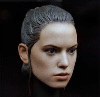 "1/6 Star Wars: The Force Awak Ray Head Sculpt Model F 12"" Female Action Figure"