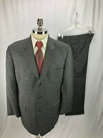 Brooks Brothers Men's Gray Wool Suit 44R 41 x 30