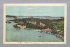 pk34341:Postcard-The Bigwin Inn,Bigwin Inn Island,Lake of Bays,Ontario