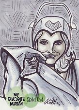 My Favorite Martian Sketch Card SK1 By KEM