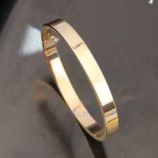 Men's Women's Stainless Steel Love Lover Polished Cuff Bangle Bracelet Wristband