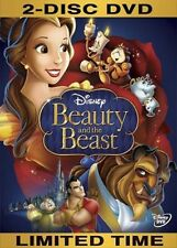Beauty And The Beast [2-Disc DVD] [1991] [Region 1] Disney Movie - Free Shipping