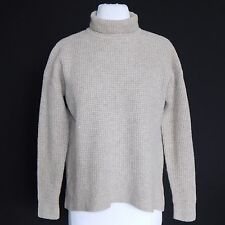 MADEWELL Oatmeal Light Brown Turtleneck Sweater size Small - S