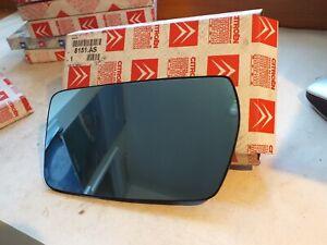 Genuine Citroen Xantia MKII  L/H Heated door mirror glass lense 8151AS  PC35