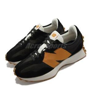 New Balance 327 NB Black Orange Gum Men Unisex Casual Lifestyle Shoes MS327HN1-D