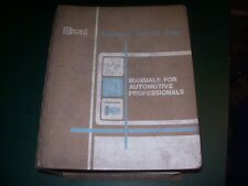 National Service Data Manuals for Automotive Professionals Imported Mechanical
