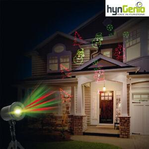 Proiettore laser Crazy Star Deluxe Luci di Natale