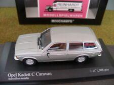 1/43 Minichamps Opel Kadett C Caravan 1978 silver metallic 400 04811