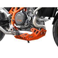 KTM 690 Duke BJ 2012-19 Motorschutz Unterfahrschutz Bugspoiler orange