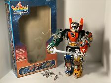 1984 Voltron Defender Of The Universe 5 Lions 99% Complete With Box