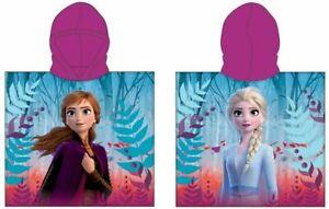 Frozen Ice Queen Poncho Beach Towel With Hood 50 X 115 CM