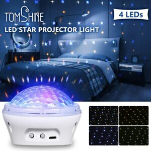Star Projector Night Light with 4 Modes and Timer Setting USB LED For Kids