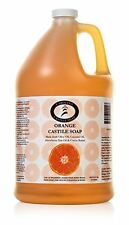 Carolina Castile Soap Orange w Organic Cocoa Butter | Certified Organic 1 Gallon