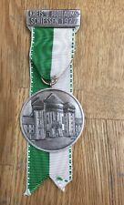 Schützenmedaille Ulm Wiblingen 925er Silber Jubiläumsschiessen 1977