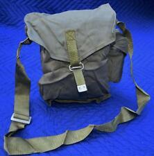 """Poland Military Surplus Item - Army Men Canvas Shoulder Bag - 10.5"""" x 3.5"""" x 9"""""""