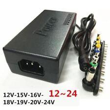 15V 19V 24V Adaptateur Secteur Alimentation Chargeur Universel PC Portable 220V