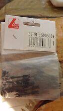 LIMA 600863 CONFEZIONE 9 barre accoppiamento fisso tra rotabili con innesto NEM