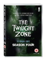 TWILIGHT ZONE COMPLETE SERIES 4 DVD 4th Fourth Forth Season Four Original UK Rel