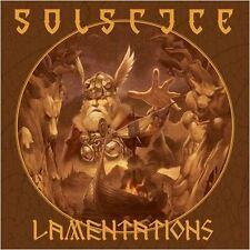 Solstice (uk) - Lamentations [orange vinyle] LP