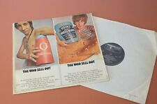 The Who Sell Out UK 1st Press Track 1967 MONO LP ORIGINAL 612 002 UK E.J Day