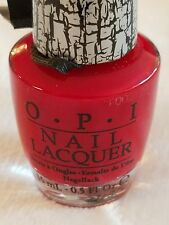 Opi Nail Polish ~* Red Shatter *~ Shop My Store For More Colors!