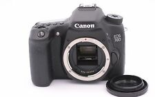 Canon EOS 70D 20.2MP Digital SLR Camera - Black (Body Only) - Shutter Count: 123