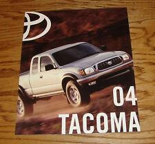 Original 2004 Toyota Tacoma Sales Brochure 04