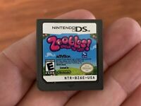 Zoobles Spring to Life (Nintendo DS, 2011) Cartridge Only TESTED