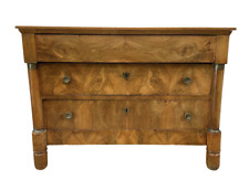 French Empire Three Drawer Commode - 19th C