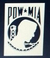 Pow mia war vinyl Window decal