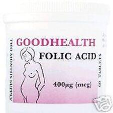 Acide Folique 180 Comprimés ( 6 Mois Approvisionnement) Envoi Gratuit