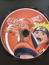 Shonen Jump's NARUTO 2002 DVD Volume 1 With Poster Anime
