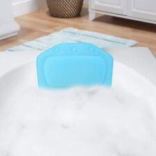Taylor & Brown Relaxing Bath Pillow Headrest Cushion Bathtub (Aqua Blue)