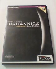 Encyclopedia Britannica Millennium Second Edition for PC / Mac