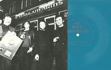 THE STRANGLERS Jet Black Interview BLUE FLEXI 1987 Punk KBD New Wave 500 MADE!!!
