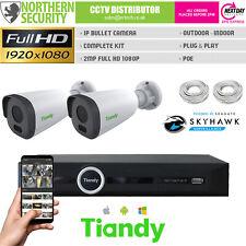 2MP Bullet Poe Caméra IP CCTV Plug & Play Kit Pack Sécurité Système Lite Séries