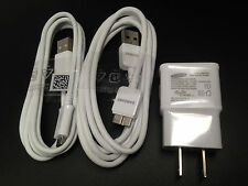 New Genuine OEM Samsung Galaxy Note 3 Galaxy Note 4 S5 S4 S3 Charger + 2 USB 5FT
