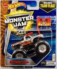 "Hot Wheels ""Chrome El Toro Loco"" Monster Truck"