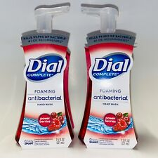 2-Pack Dial Complete POWER BERRIES Foaming Hand Soap Wash 7.5 oz Kills Bacteria
