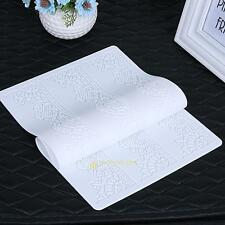 New Silicone Mold Mat Lace Sugar Cake Chocolate Fondant Baking Mould Decor Craft