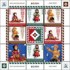 2015 Europa - Nagorno Karabakh - sheetlet