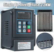 2.2KW 3HP 220V Single To 380V 3 Phase Variable Frequency Drive Inverter CNC VFD