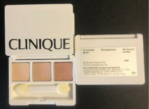 CLINIQUE All About Shadow Trio - Sunset Glow, Daybreak, French Vanilla - 1.9 grs