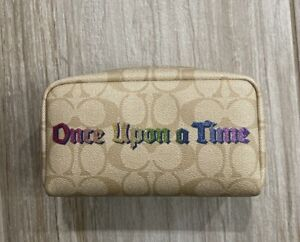 Disney X Coach Once Upon A Time Small Boxy Cosmetic Case