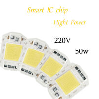 Smart IC Driverless for Floodlights Direct 50W LED Lamp Chip Cool White COB DIY