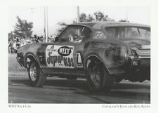 """WIXY Radio Race Car"" (Oldsmobile Cutlass) Cleveland Rock-n-Roll {Postcard} (XT9"