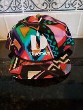 Vintage Diversey Trucker Hat Advertising Multi color
