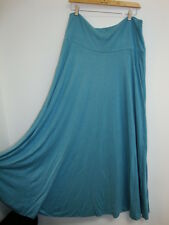 April Cornell Blue Skirt New XL Large Vintage Romantic A-line NWT Flared Simple