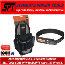 BAHCO ELECTRICIANS TOOL POUCH & WORK BELT COMBO KIT 4750-EP-2 & 4750QRLB-1 - NEW