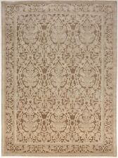 """Hand knotted tone on tone Indian Rug. 8'10""""x 12'rugs"""